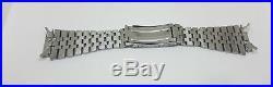 Rare Used Vintage 20 MM Omega 32 1131/215 Solid Link Ss Strap Bracelet Flat End