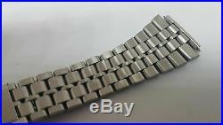 Rare Used Vintage 20 MM Omega Jb Champion Solid Link Ss Strap Bracelet Band 702
