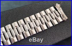 Rare Vintage 18 MM Omega Constellation Ss No. 30 1118 Bracelet Band Strap Lug 582
