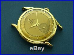 Rare Vintage 1940's 18K Omega Centenary OT2500 Chronomètre Cal. JUB 30.10 RA PC