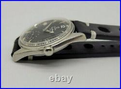 Rare Vintage 1956 Omega Ranchero 2990 1 Cal267 Black Dial Man's Watch