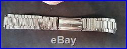 Rare Vintage 9 MM Omega Expanding 1500 Stainless Steel Band Bracelet Strap