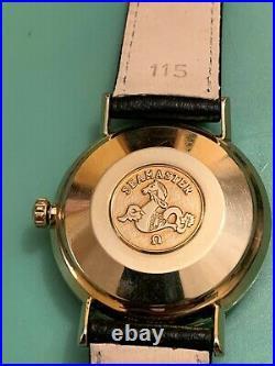 Rare Vintage Classic OMEGA Seamaster De Ville Automatic Wristwatch