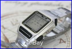 Rare Vintage Herren Armbanduhr Omega 1640 Digital LCD wrist watch