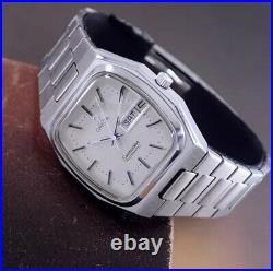 Rare Vintage Omega 1979 Seamaster Automatic Silver Dial Day&date