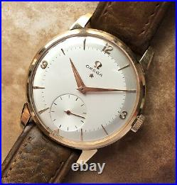 Rare Vintage Omega 2894 18k Gold From 1958#cal 267#pre Constellation#unpolished