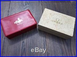 Rare Vintage Omega 2915 2998 2914 2913 Seahorse Box Set Speedmaster Seamaster