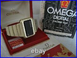 Rare Vintage Omega Constellation Led Watch Cal 1602 With Org Box & Papers Mint
