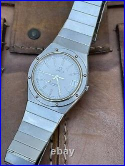Rare Vintage Omega Constellation Marine Ref 196.0147. White Dial