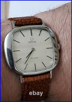 Rare Vintage Omega De Ville Slim Automatic Good working order