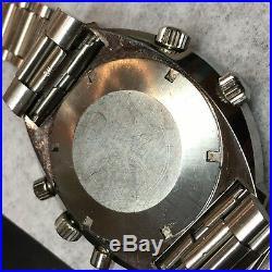 Rare Vintage Omega Flightmaster Chronograph Pilots Wrist Watch 145.036
