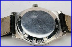 Rare Vintage Omega Geneve 166 0 163 Cal 1012 Automatic Quick Set Date Watch