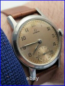 Rare Vintage Omega Military WW2 2472-1 Men Watch