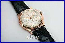 Rare Vintage Omega Pre Speedmaster Cal 321 18K Solid Pink Gold 1961 Manual Watch
