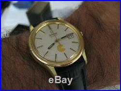 Rare Vintage Omega Quartz Cal 1343, Papers In Excellent Condition