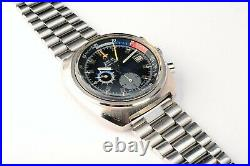 Rare Vintage Omega Seamaster 176.010 Yachting Chronograph Steel Automatic Watch