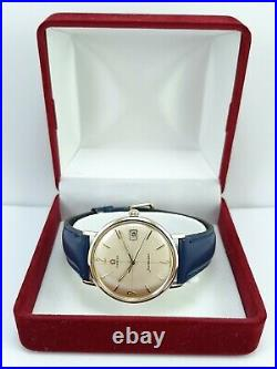 Rare Vintage Omega Seamaster 18 gold & steel, Cal. 610, Certificate, Boxed Serviced