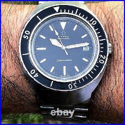 Rare Vintage Omega Seamaster 200 M Automatic Diver Ref 166.091 Mini Ploprof