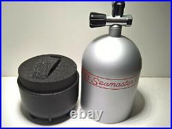 Rare Vintage Omega Seamaster Big Blue Ploprof Diving Oxygen Bottle Watch Box