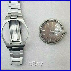 Rare Vintage Omega Seamaster Cosmic 2000 Automatic 1972's Dial Color Chocolate