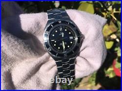 Rare Vintage Omega Seamaster Dive Diver Scuba Watch