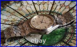 Rare Vintage Omega Seamaster Integrated Bracelet Automatic 166.0265 cal. 1010