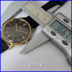 Rare Vintage Omega Seamaster Linen Dial 1964 Ref. 135.011