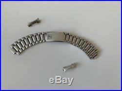 Rare Vintage Omega Speedmaster 1171 Trapezoid Bracelet With 633 End Links