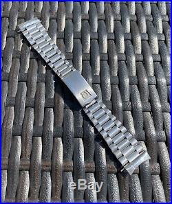 Rare Vintage Omega Speedmaster 1171 Trapezoid Bracelet With 677 End Links