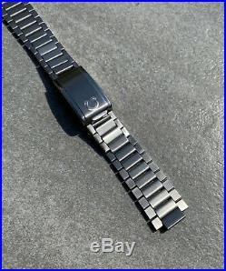 Rare Vintage Omega Speedmaster Flat Link 19mm Bracelet Ref. 1035 Dated 1971