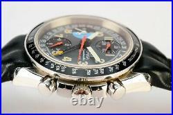 Rare Vintage Omega Speedmaster Mk40 Triple Calendar Chronograph Automatic Watch