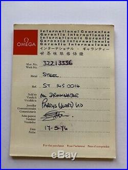 Rare Vintage Omega Speedmaster Professional Mark II perfect working order