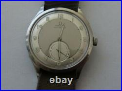 Rare Vintage Omega cal. 30.10 17 Jewels Bumper Automatic Military Watch c. 1940's