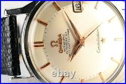 Rare Vintage Original Omega Constellation Pie Pan 561 S. Steel Automatic Watch
