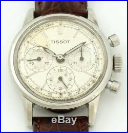 Rare Vintage Tissot Chronograph With Early Lemania/Omega 1281 Movement