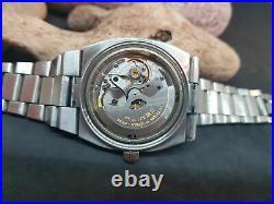 Rare Vintage Zenith Defy Automatic Black Dial Date Man's Watch