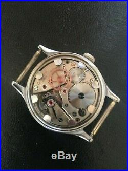 Rare Ww2 1944 Vintage Omega 30t2sc Case # 2179 Military Model Mens Watch