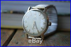 Rare and Vintage Omega Wristwatch Cal 491 17j. Automatic Working perfectly