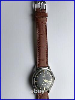 Rare et Superbe Omega Seamaster Vintage. Cadran Noir original. Année 1959