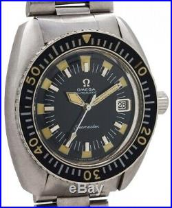 Rare vintage 1970 Omega Seamaster 120 ref 166.073