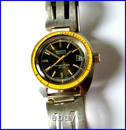 Rare vintage diver watch submariner 1960 plongee caribbean monvis zenith omega