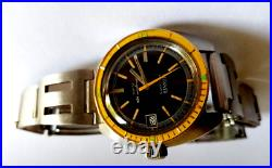 Rare vintage diver watch submariner 1960 plongee caribbean oyster tritium sub