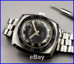 Rare vintage sub skin diver 1960 plongee le pahre no rolex-zenith-omega