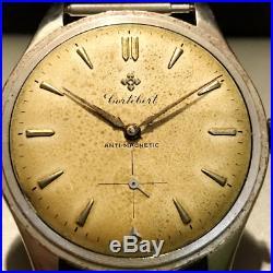 Rare vintage watch calatrava oversize 38mm jumbo 1950 as rolex omega longines
