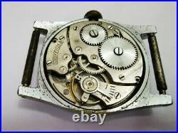 Seiko Seikosha Rare Art Deco Look WW2 Era Japanese vintage watch