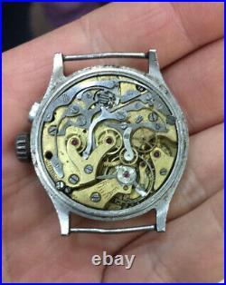 Sell very rare Watch Lemania chronograph monopush vintage omega legends kal. 15Tl