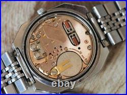Stunning Vintage 1977 OMEGA Constellation Chronometer F300Hz Rare Octagonal Case