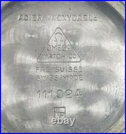Super Rare Dial Omega Mens De Ville Square Midi Style stunning