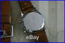 Super rare Omega Vintage 1951 Chronograph Cal. 321 Tropic Gilt Radium Dial