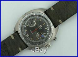 Tissot Seastar Navigator Chronograph Valjoux 7734 Vintage Omega Tudor 1970s Rare